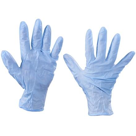 Box Partners Nitrile Gloves,PowdeRD,Xlarge,BL,100/CS - BXP GLV2011XL