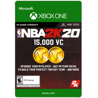 NBA 2K20 15,000 VC, 2K Games, Xbox [Digital Download]