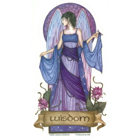 Jessica Galbreth - Angel Virtues Wisdom Fairy - Sticker / Decal