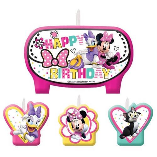 Minnie Mouse 'Happy Helpers' Mini Candle Set (4pc)