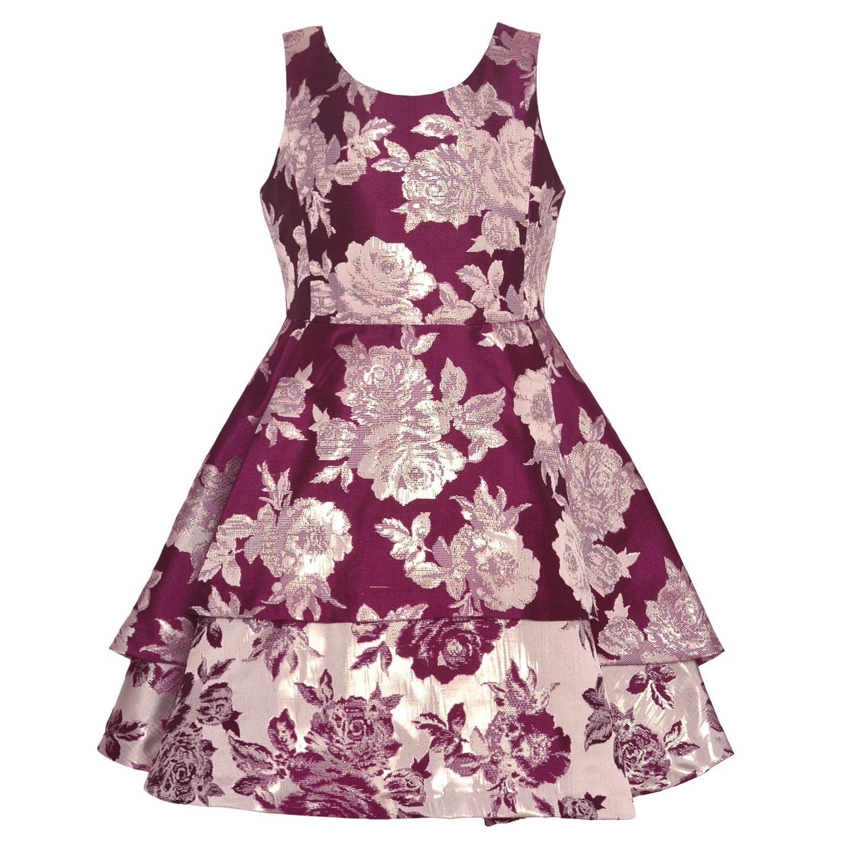 Bonnie Jean Girls Unicorn Gold Birthday Party School Dress 4 5 6 6X New