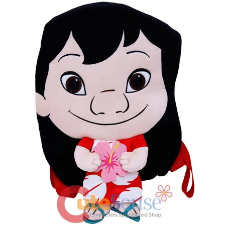 Lilo and Stitch Lilo Pele Plush Doll Backpack 18