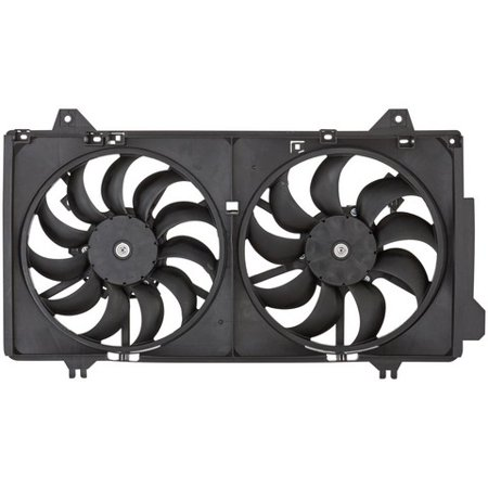 spectra premium dual radiator and condenser fan assembly p/n:cf21030