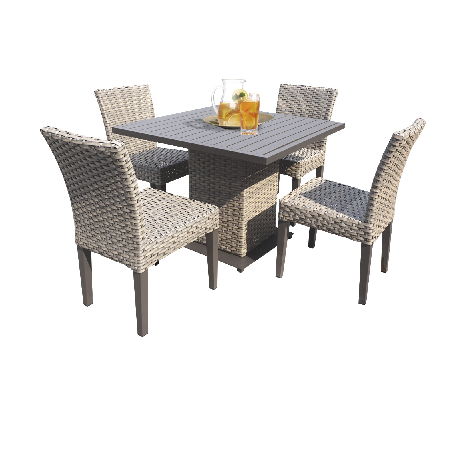 Harmony Square Dining Table with 4 Chairs