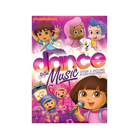 NICKELODEON FAVORITES-DANCE TO THE MUSIC (DVD) (Nickelodeon Show Legends Of The Hidden Temple)