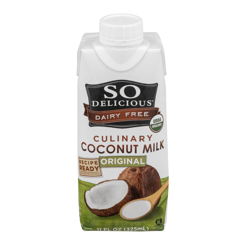 So Delicious Dairy Free Culinary Coconut Milk Original, 11.0 FL OZ