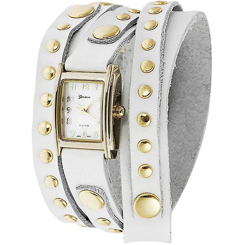 Brinley Co. Women's Studded Wrap-Around Watch