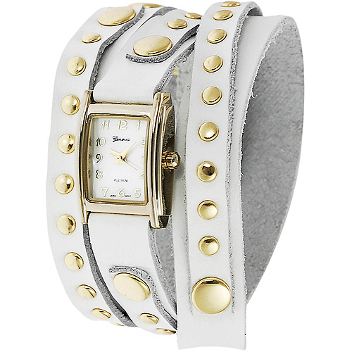 Brinley Co. Women's Studded Wrap-Around Watch
