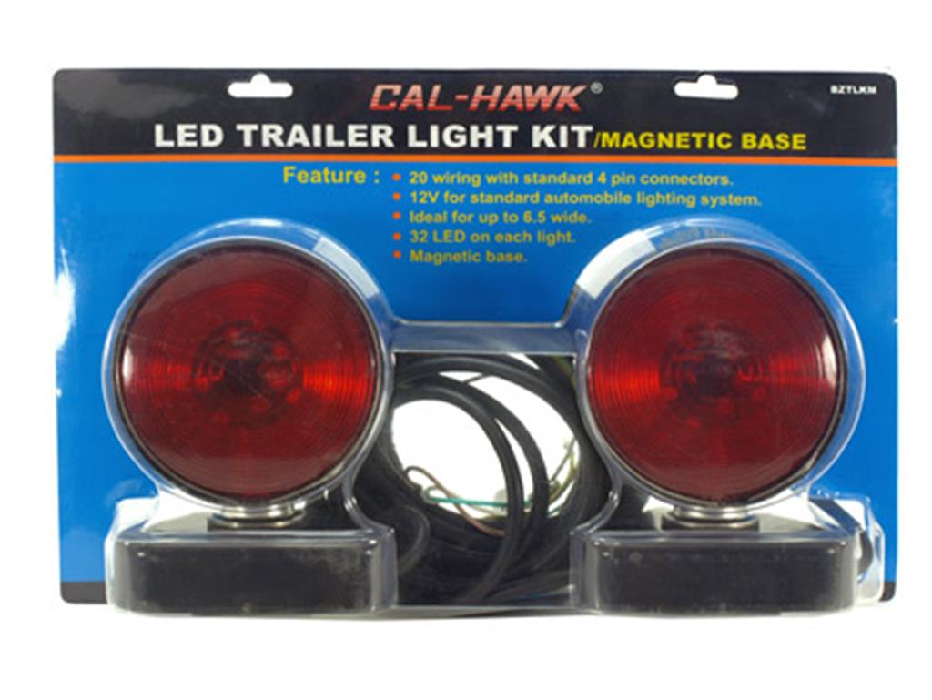 Cal Hawk Tools Led Trailer Light Kit W Magnetic Base Together With Wiring