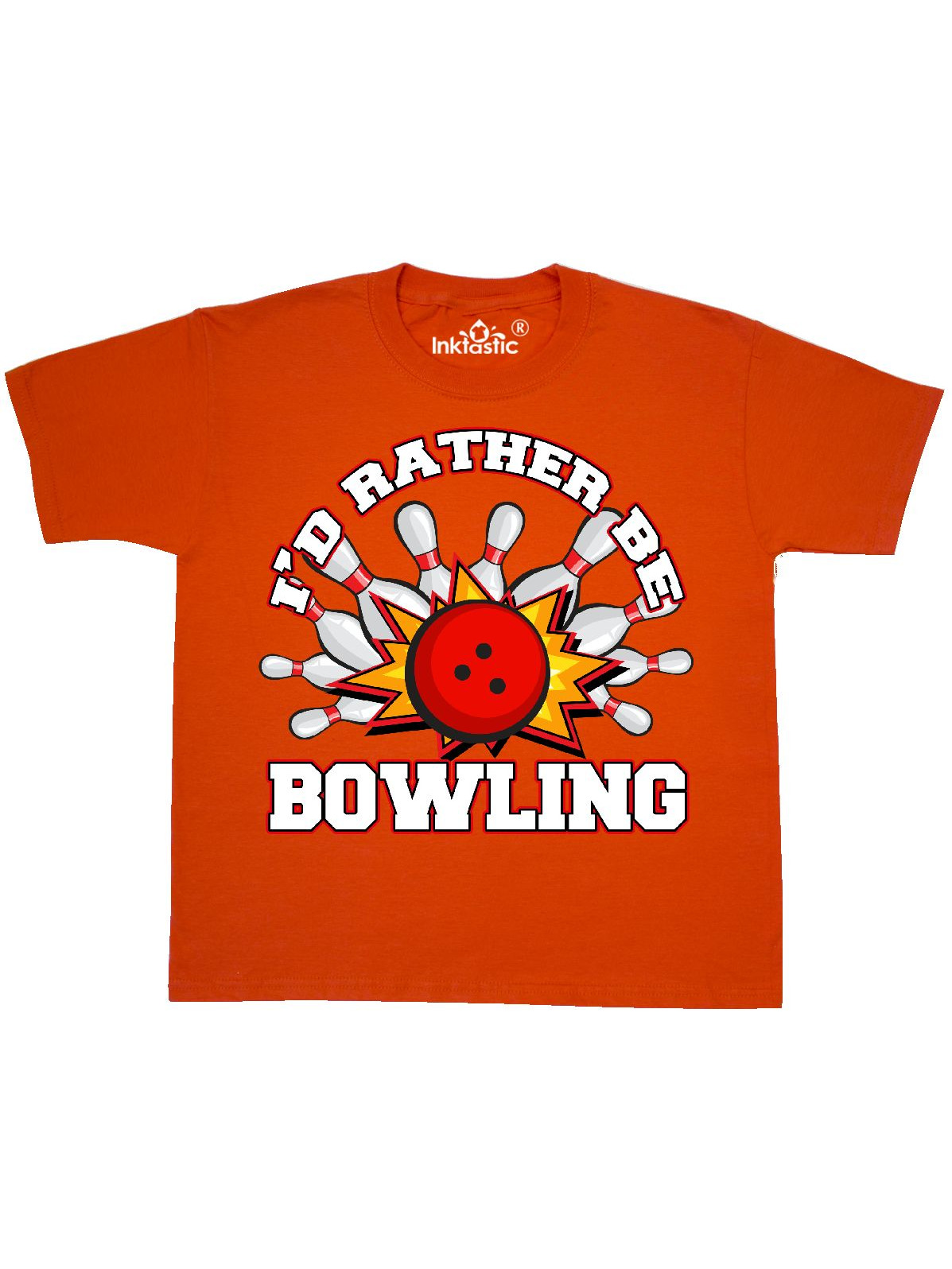 I'd Rather Be Bowling Youth T-Shirt