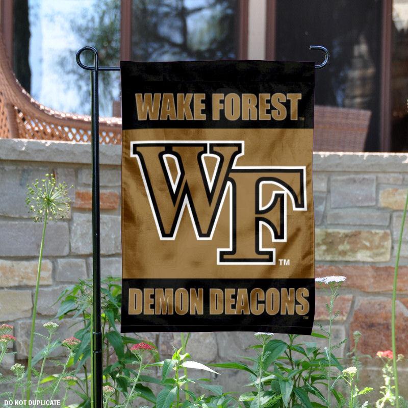 "Wake Forest Demon Deacons 13"" x 18"" College Garden Flag"