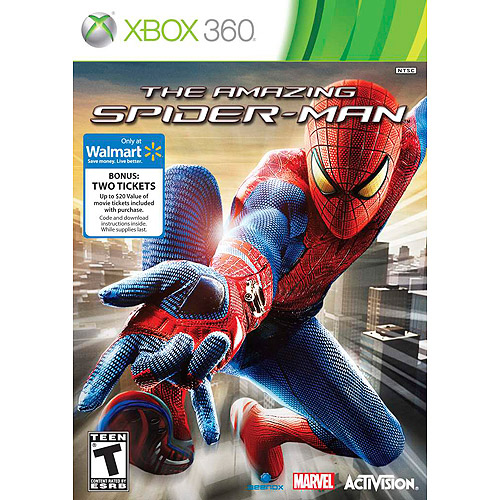 Activision Amazing Spiderman (Xbox 360) w/ Exclusive Bonus Two (2) Movie Tickets