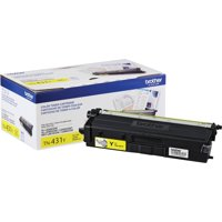 Brother TN431BK Standard Yield Toner Cartridge, Black