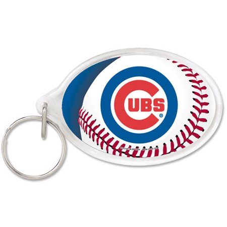 Chicago Cubs WinCraft Premium Acrylic Keychain - No Size (Blank Acrylic Keychains)