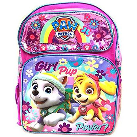 Backpack - Paw Patrol - Girls Pup Power Pink 16