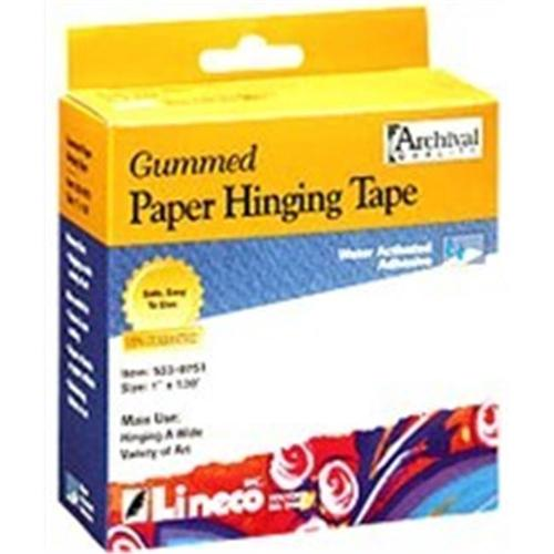 Art Supplies L5330751 Gummed Paper Tape 1 inch X 130 Ft.