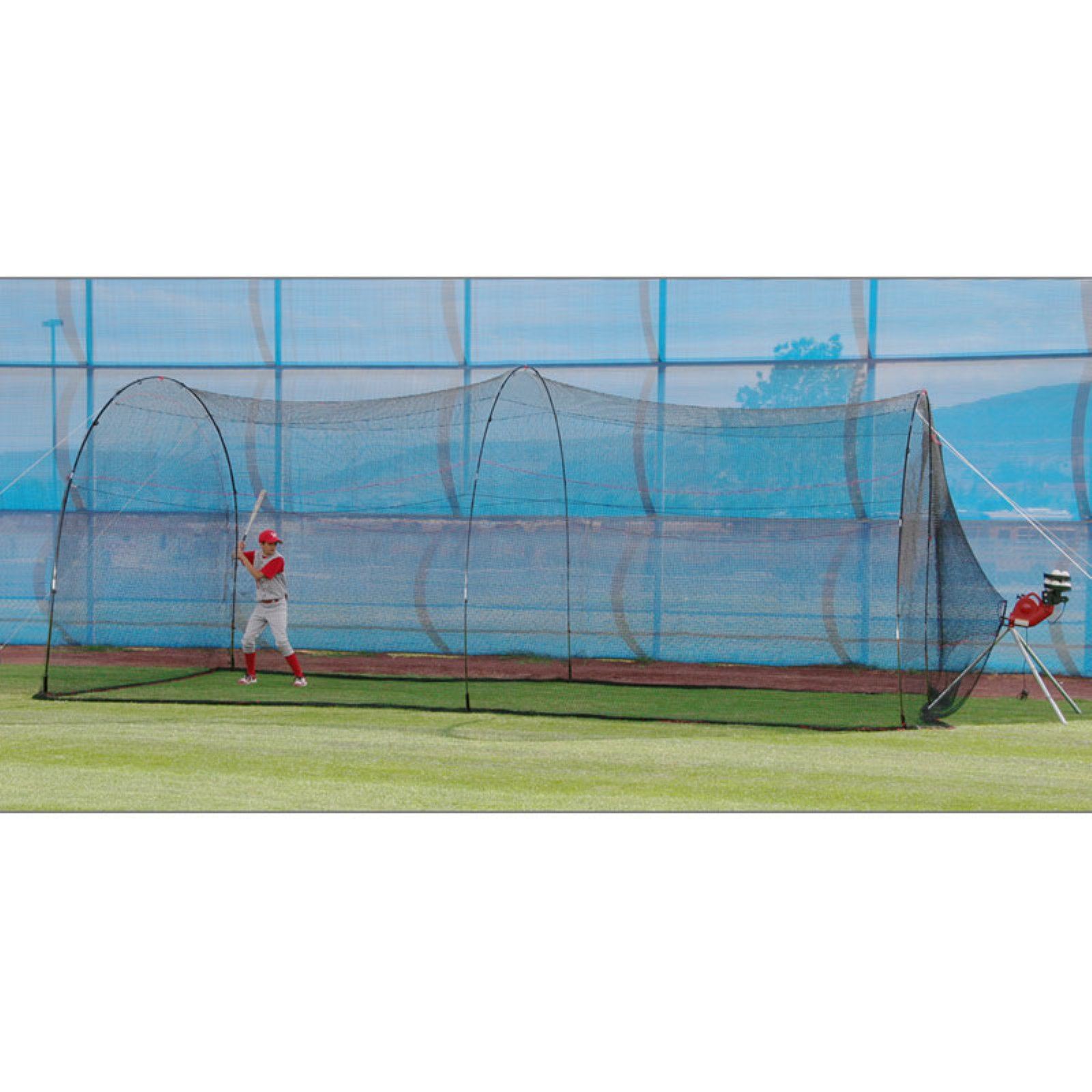 Heater Sports 22 ft. PowerAlley Baseball Batting Cage