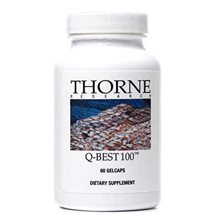 Thorne Research - Q-Best 100 - Exclusive Crystal-Free CoQ10 Supplement for Optimal Absorption - 60