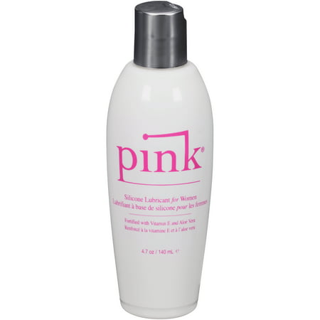 Pink SIL Lube for Women - 4.7 Oz / 140 ml