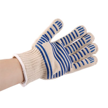 Simplicity Oven Mitt - Heat Proof Resistant Cooking Kitchen Oven Mitt Glove For 540F Hot Surface