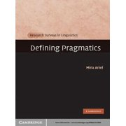 Defining Pragmatics - eBook