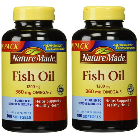 Naturemade nature made fish oil 1200 mg 2ct for What is the best fish oil to take