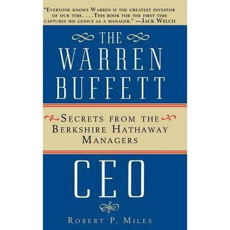 The Warren Buffet CEO (Hardcover) (Joshua P Warren)