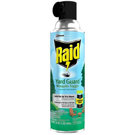 Raid Yard Guard Mosquito Fogger 16.0 oz.(pack of 4)