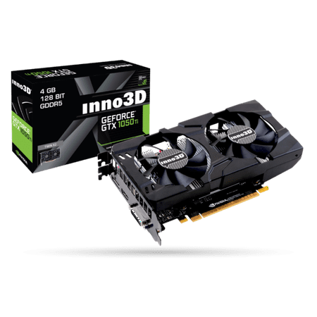 INNO3D Nvidia Geforce GTX 1050 TI 4GB PCI-E x16 3.0 GDDR5 Video Graphics (Nvidia Geforce Gtx 750 Ti Graphics Review)