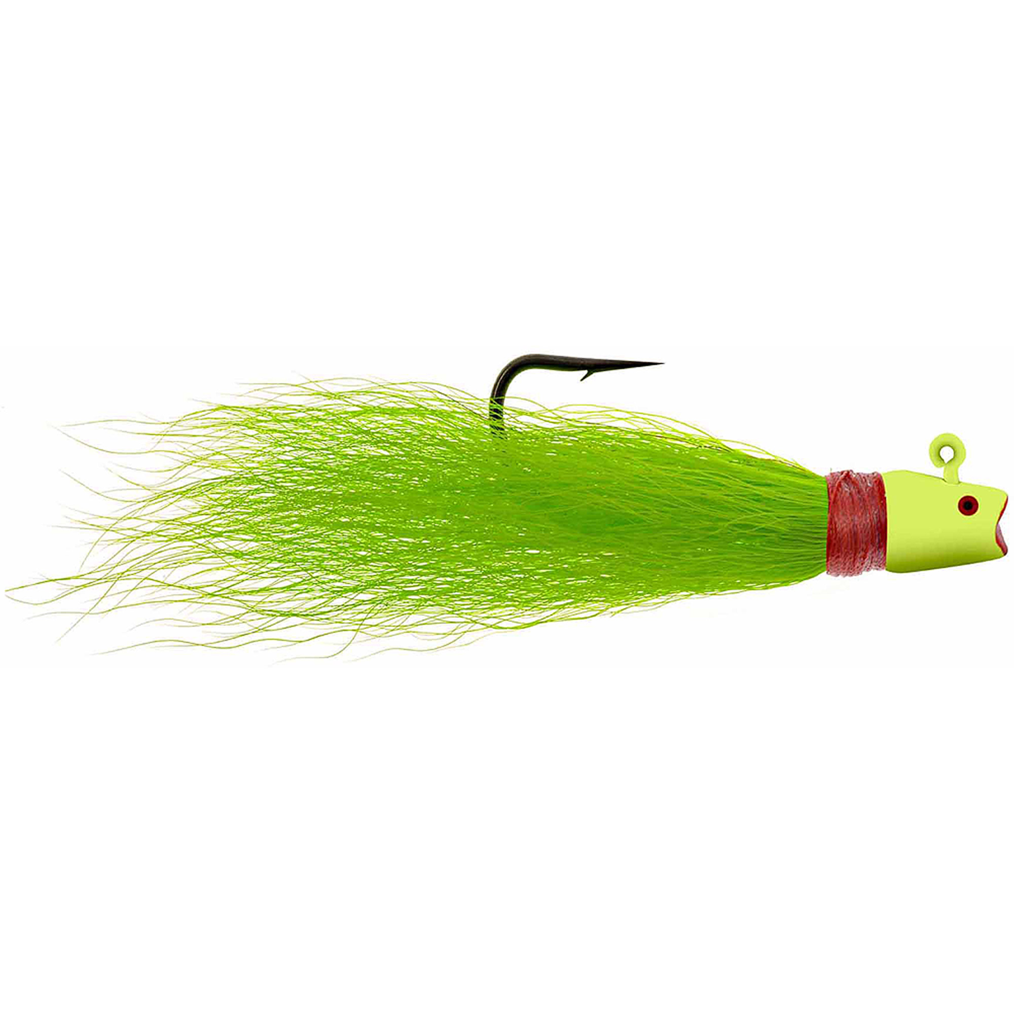Hurricane Laughing Bucktail Chartreuse by Hurricane