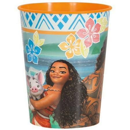 Disney Moana 16oz Plastic Party Cup