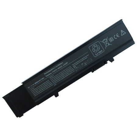 Superb Choice® 9-Cell Battery for DELL 312-0997 312-0998 4JK6R 7FJ92 CYDWV - image 1 of 1