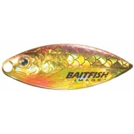 Northland Fishing Tackle Willow Leaf BaitFish, #3 Yellow Perch 1 Yellow Imaging Unit