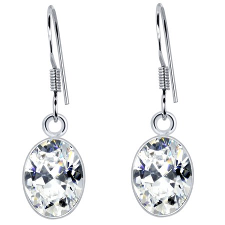 Sterling Silver  Earrings for Women|    December Birthstone Earrings|   with seamless  Finish|Orchid Jewelry ()