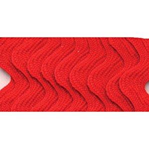 Wrights 117-401-076 Polyester Rick Rack Trim, Scarlet, Medium, 2.5-Yard