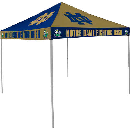 Logo Chair NCAA Notre Dame 9' x 9' Checkerboard Tent