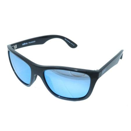 bffc6d12d776d Revo Eyewear Sunglasses Otis Black Polarized Blue Water Lens - Walmart.com