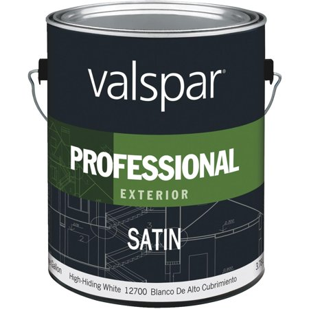 Valspar Professional 100 Acrylic Satin Exterior House Paint