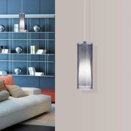Pinto Nero 1 Light - Eglo USA Pinto Nero 90304A Hanging Mini-Pendant Light
