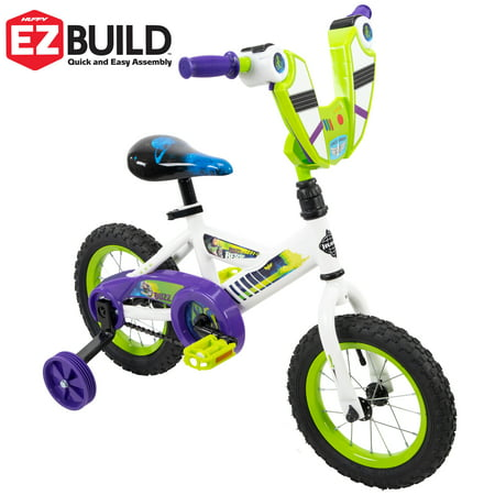 "Disney Pixar Toy Story Buzz Lightyear 12"" EZ Build Bike by Huffy"