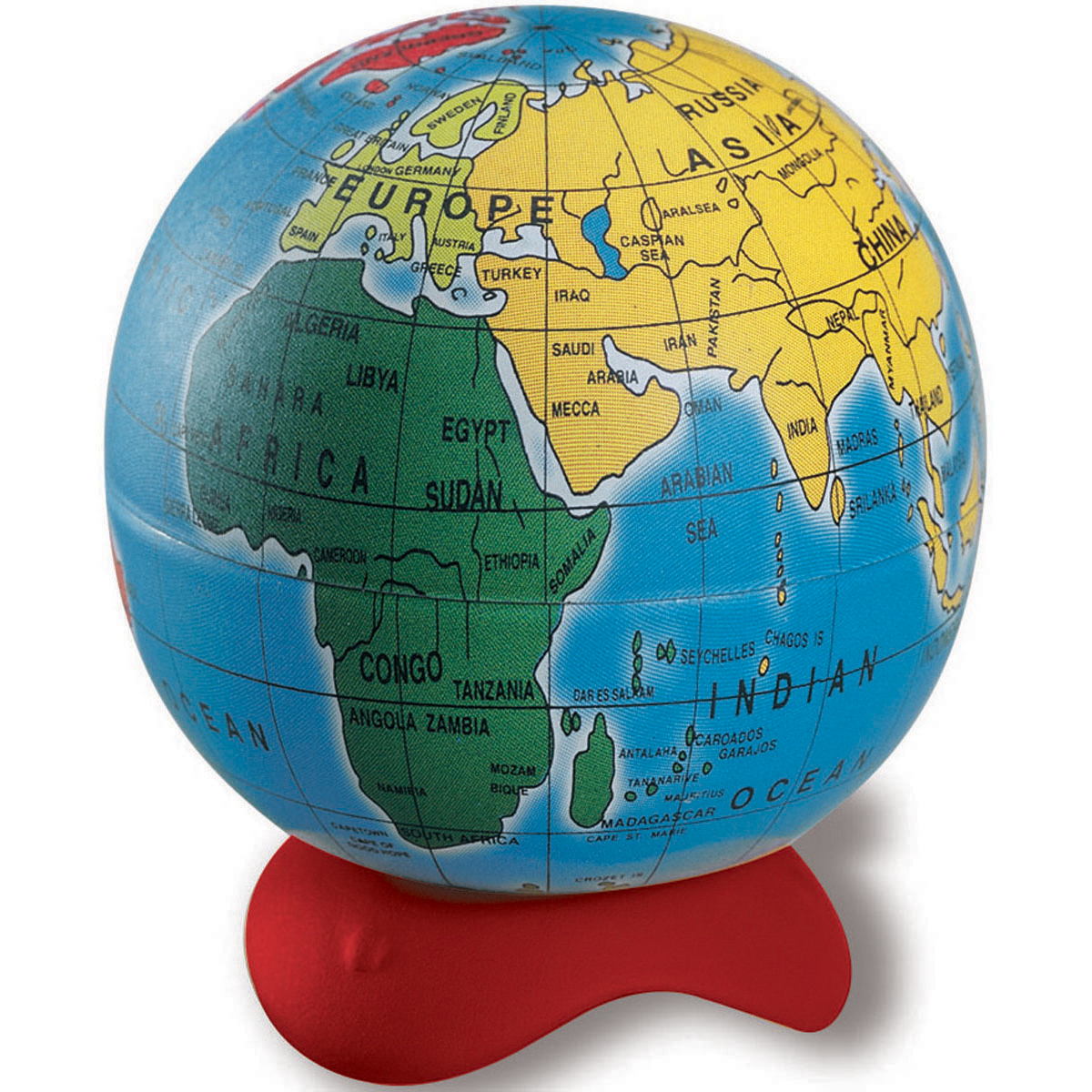 Pencil Sharpener-Globe