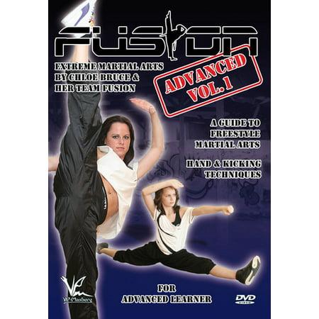 Fusion: Martial Arts Advanced Volume 1 Hand Techniques & Kicks -