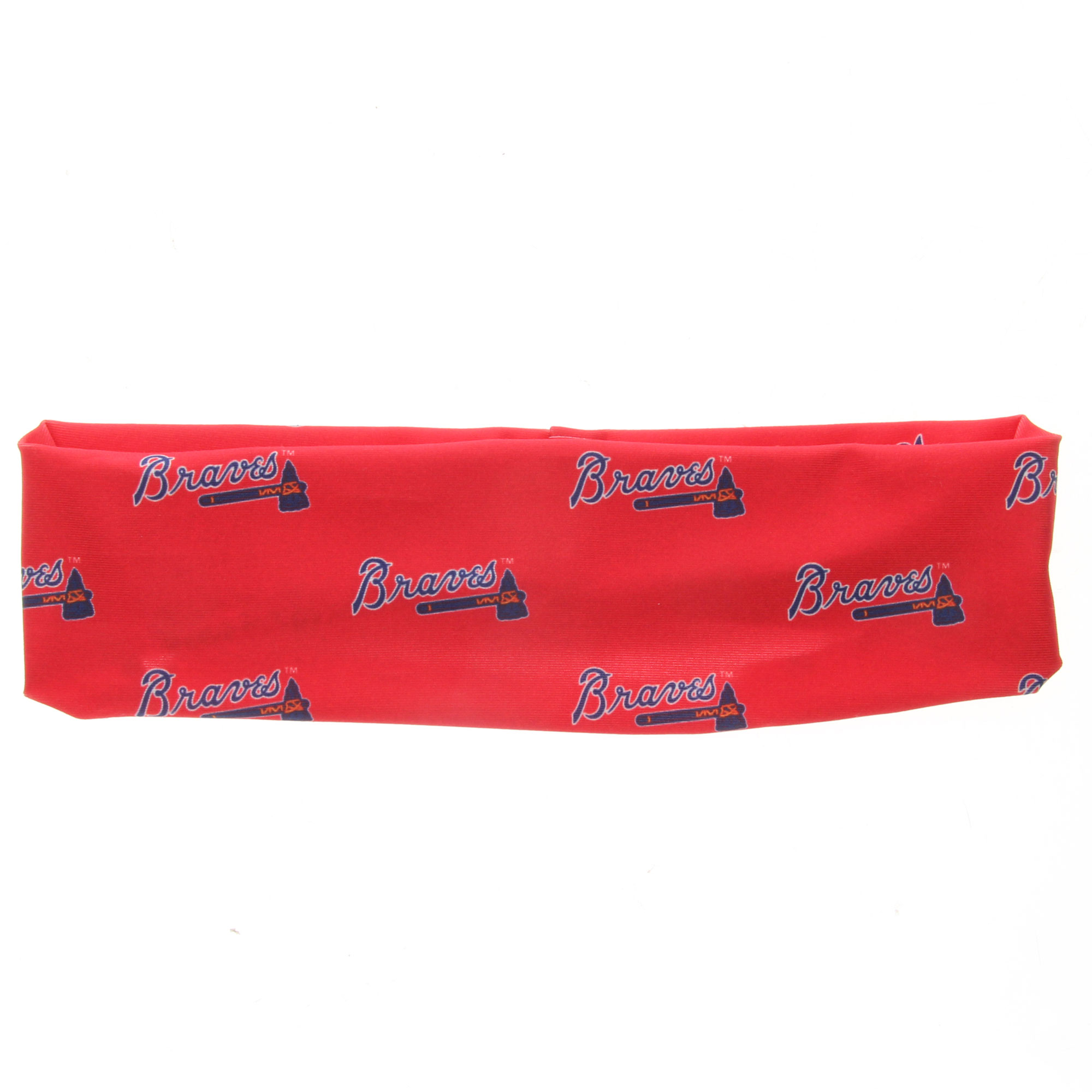 Atlanta Braves Coolcore Headband - Red - No Size