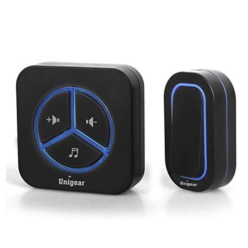 Wireless Doorbell, Portable Wireless Door Bell Kit with 4...