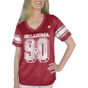 Russell NCAA Oklahoma Sooners, Women's Heather V-neck Game Jersey