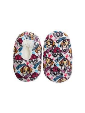 Fuzzy Babba Paw Patrol Girl's Slippers