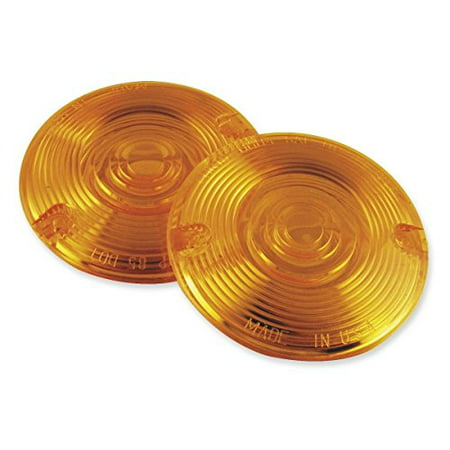 Turn Signal Assemblies - Replacement Lenses Amber DHD4A (Closeout) By Chris Products