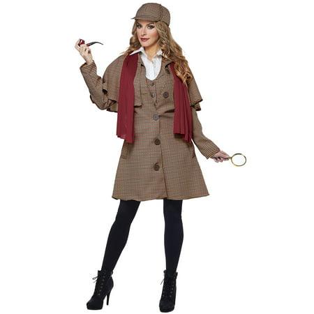 Lady Sherlock Adult Costume