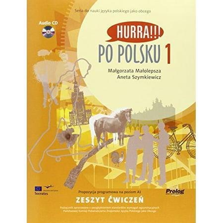 Hurra!!! Po Polsku: Student's Workbook Vol. 1 (Book & CD) (Paperback) (Hurra Po Polsku 1)