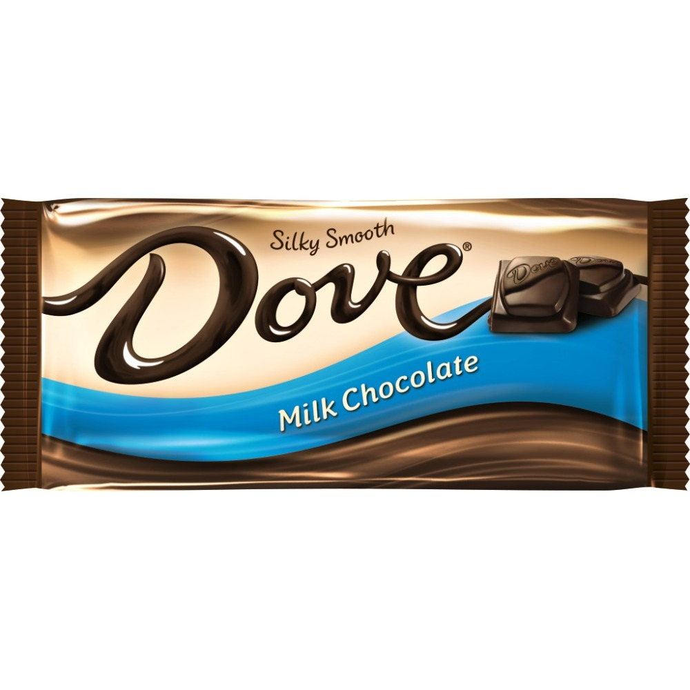 DOVE Milk Chocolate Sharing Size Candy Bars Box, 3.30 oz 12 Pack ...